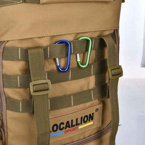 50L Tactical Military MOLLE Assault Backpack Pack 3 Way Modular Attachments Bag