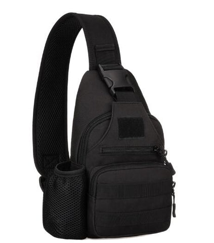 USB Charging One Strap Chest Bag Daypack