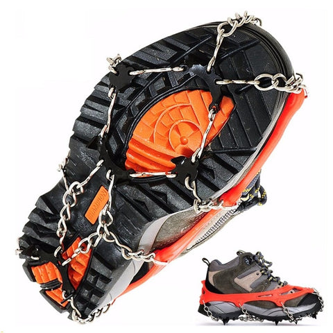 Bearclaw 8 Tooth Anti-Slip Ice Traction Chain Cleats