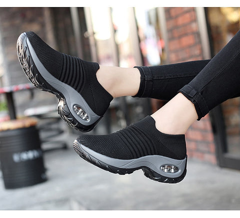 Ladies Nagoya Airsole Sock Sneakers