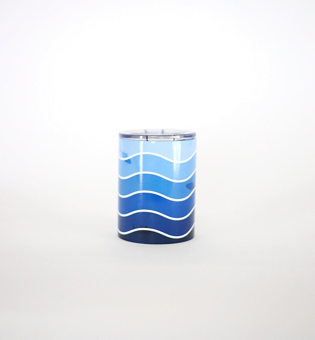 Line + Cleat Waves Tumbler