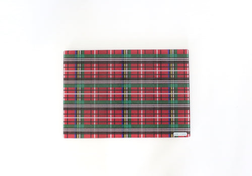 Holiday Plaid Bar Board