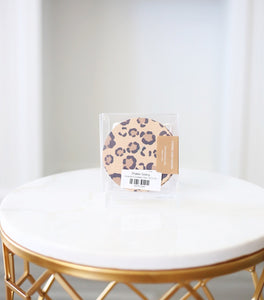 Leopard Coaster Set