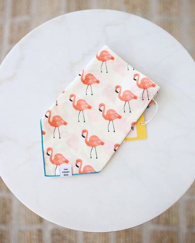 Flamingo Dog Bandana