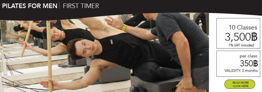 Pilates group class for men Bangkok
