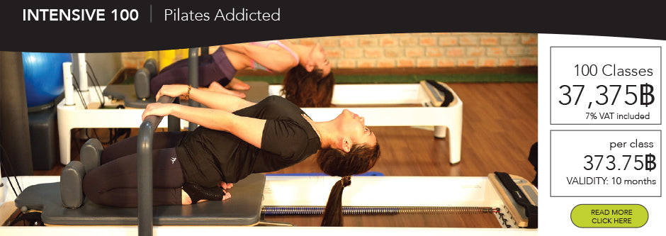 Pilates reformer Bangkok 100 classes