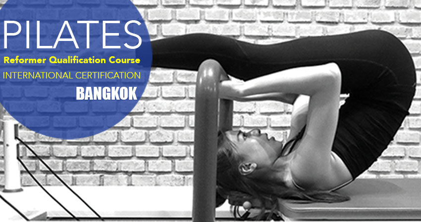 Polestar Pilates Instructor course training in Bangkok at The Balance Studio