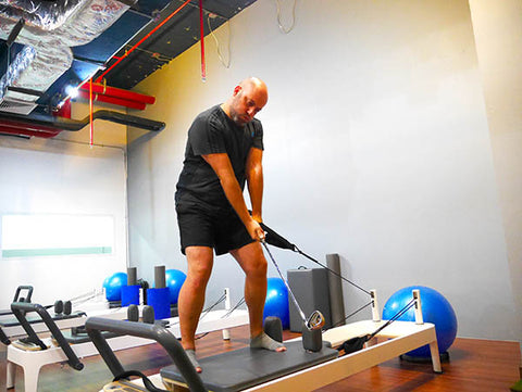 Pilates Bangkok for Golfers how to improve your game from 1,700฿ per private class, start now.