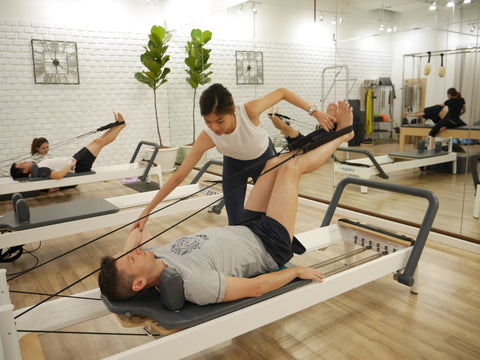 Pilates Bangkok private session the best rate 1,500฿ at BTS Asoke