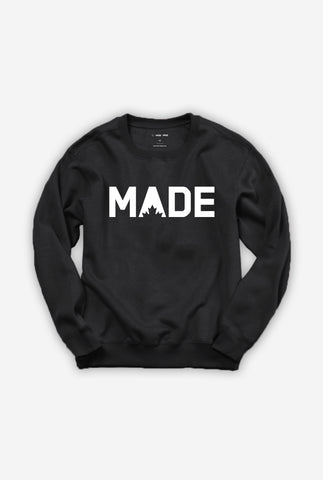 MADE Unisex Crewneck - Black