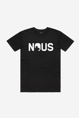 NOUS Men's T-Shirt - Black