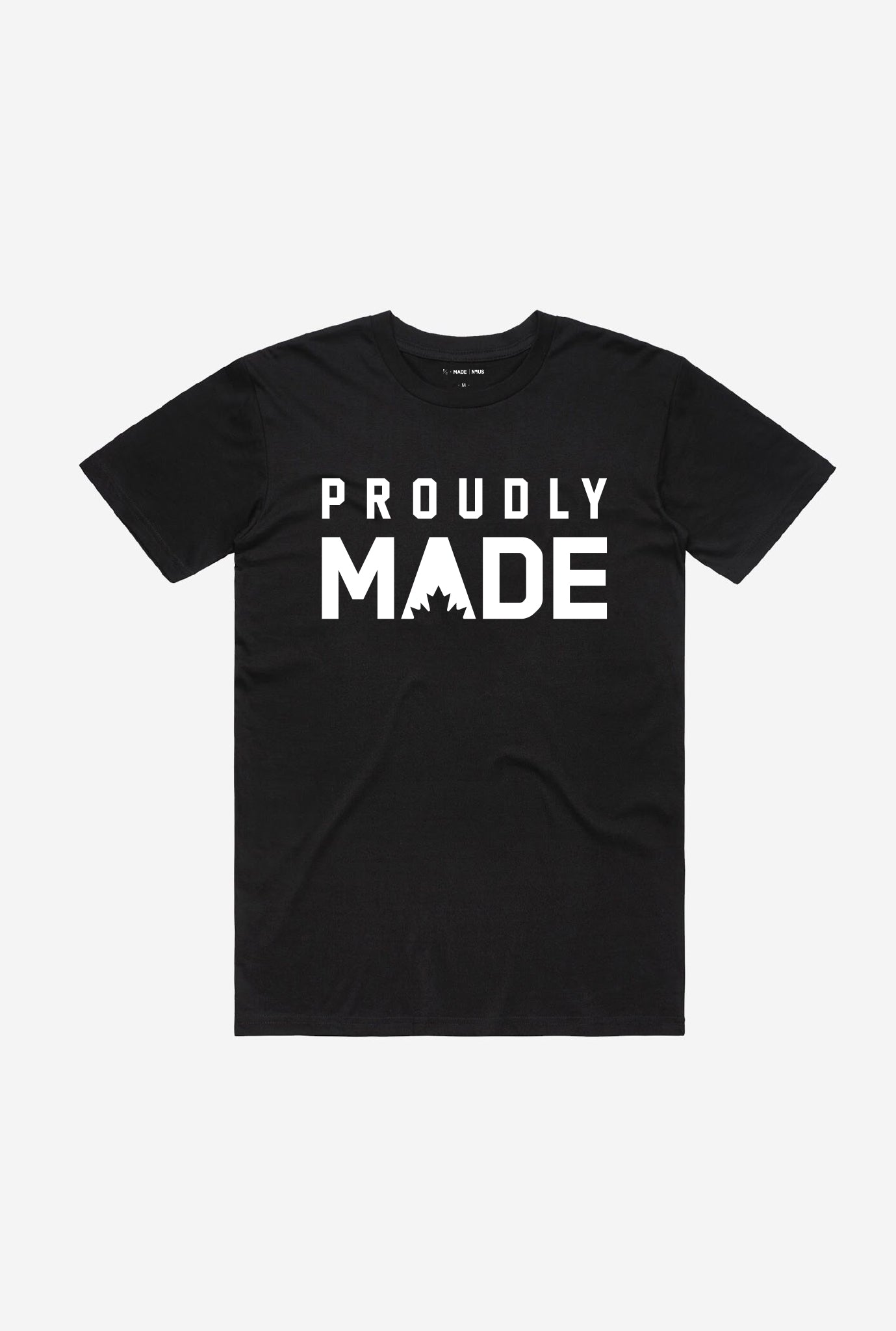 Proudly MADE Men's T-Shirt - Black