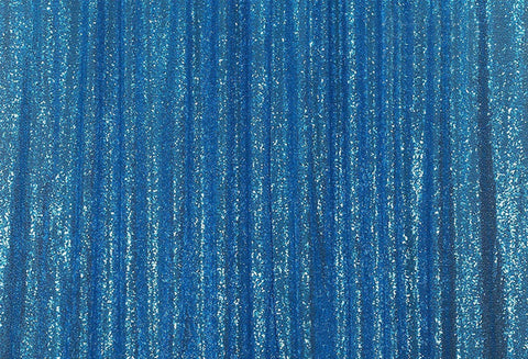 Blue Sequins Fabric Photography Backdrop for Party