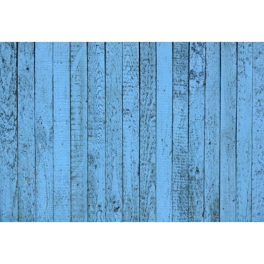 Blue Wood Floor Backdrop For Party Photography Background