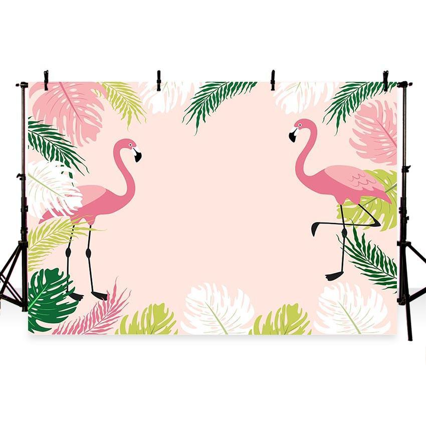 Simple Pink Goose Backdrops for Baby Show Photography Backgrounds