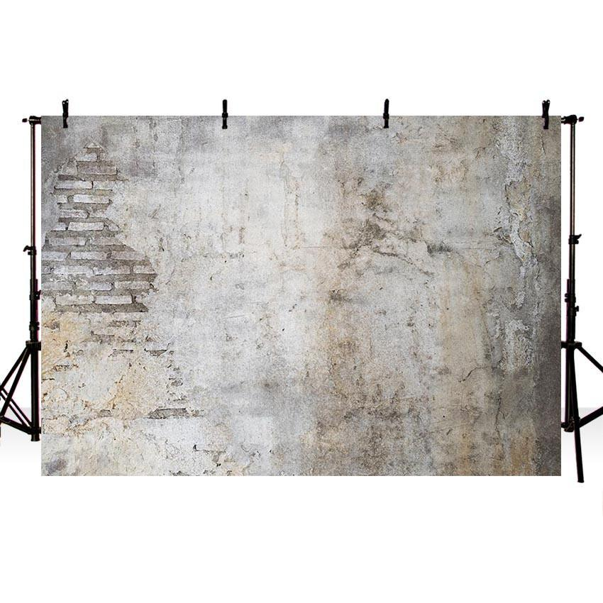 Mottled Old Wall Backdrops Grunge Brick Wall Backdrop Photography
