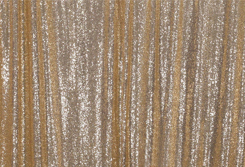Champagne Sequins Fabric Photography Backdrop for Party