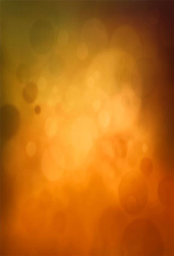 Brown Orange Polka Abstract Backdrop for Table Banner
