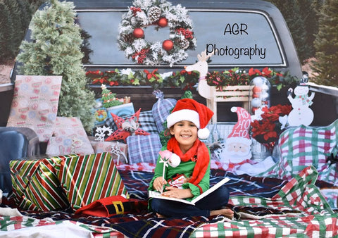 Merry Christmas Mini Session Photography Backdrop for AGR Photography