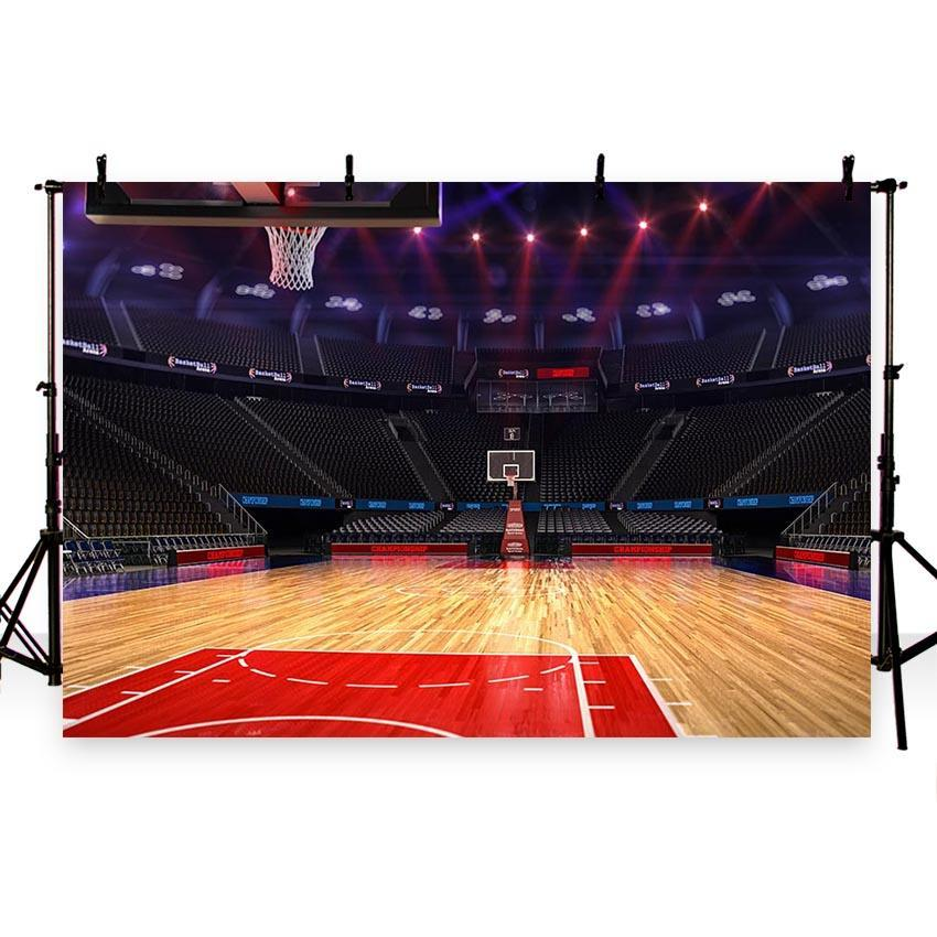 Stadium Backdrop Basketball Field Photography Background