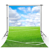 Green Grass Backdrop Football Field Sports Photography Background