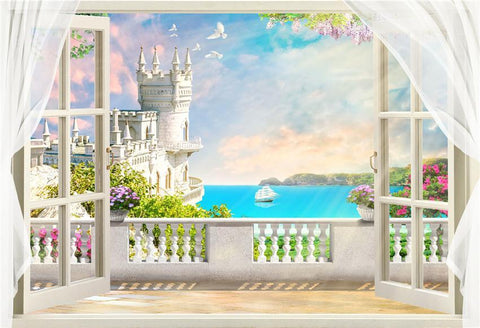 Door & Window Backdrops