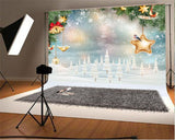 Christmas Snowflake Photography Backdrops