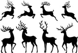 Elk Christmas Photography Prop Backdrop for Picture