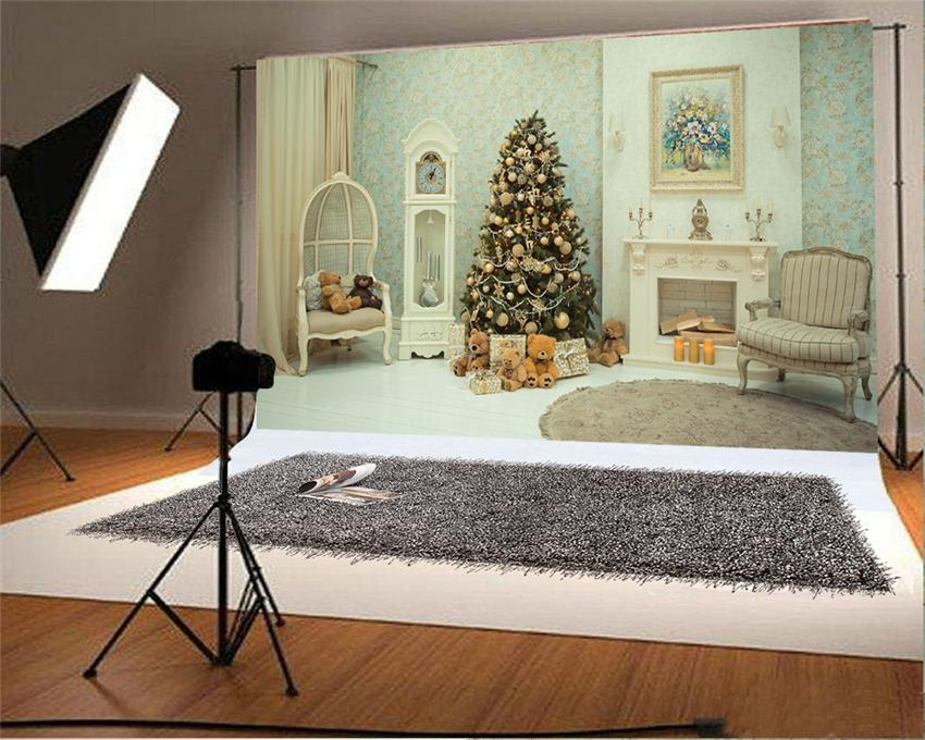 Merry Christmas Room Photo Backdrop