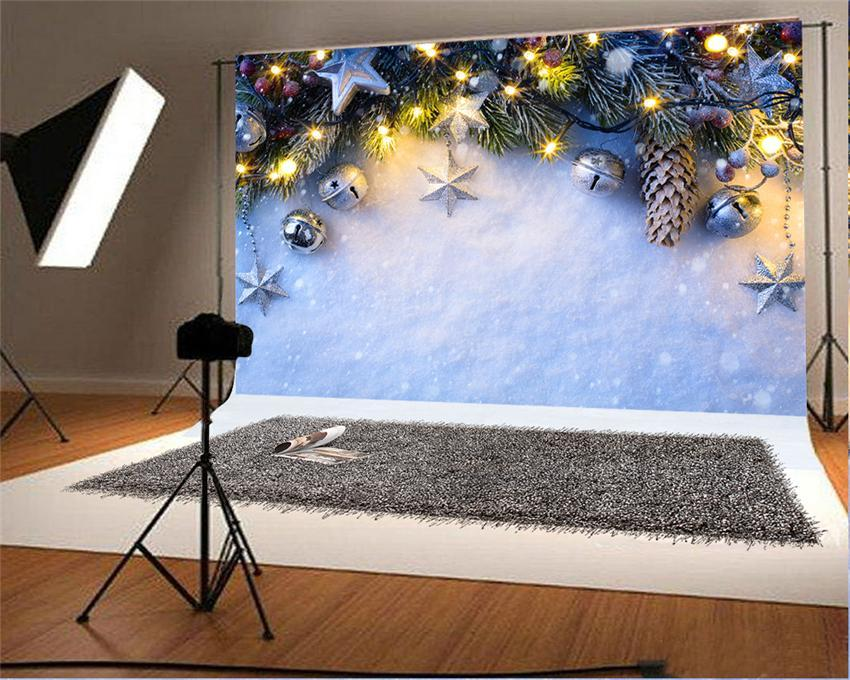 Winter Snow Christmas Photo Studio Backdrops