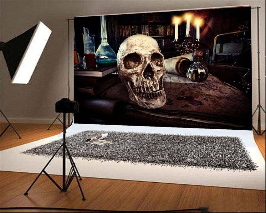 Skeleton Magic Photography Backdrop