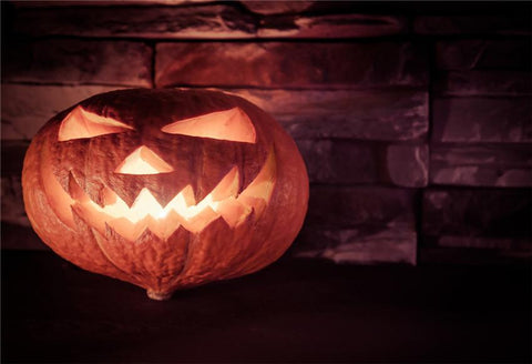 Pumpkin Light Halloween Backdrops
