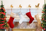 Christmas Socks Elk Backdrops