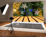 Christmas Tree Stat Light Backdrops
