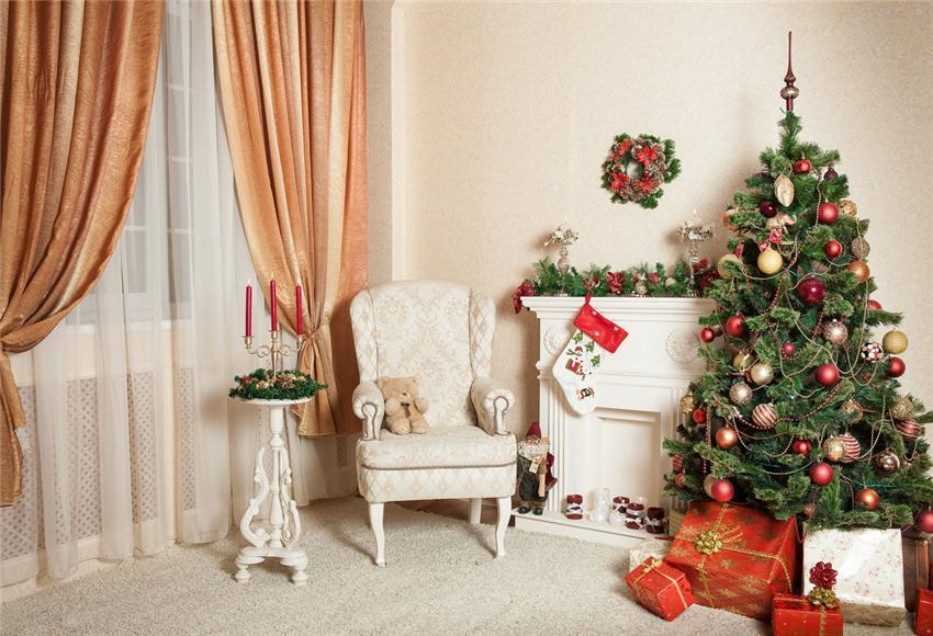 Happy New Year Christmas Backdrops