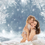 Christmas Winter Snow Holiday Backdrop for Photography Prop