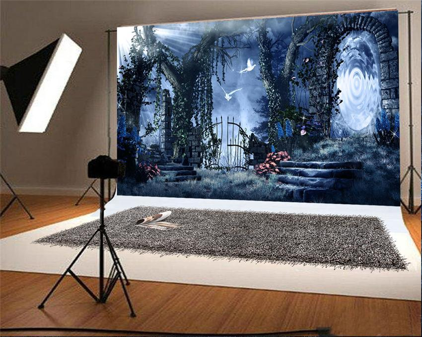 Halloween Magic Backdrops for Picture