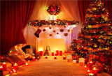 Night of Christmas Glitter Photography Backdrops
