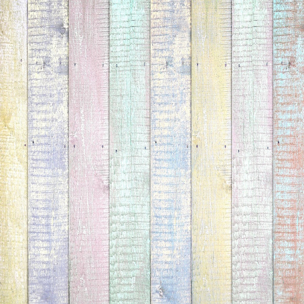 Multicolor Wooden Happy Easter Backdrops for Studio