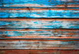 Rust Retro Wood Wall Photo Booth Prop Backdrops for Party