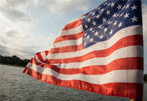 Independence Day America Flags Backdrops for Photography Prop