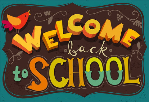 Welcome Back to School Photography Backdrops