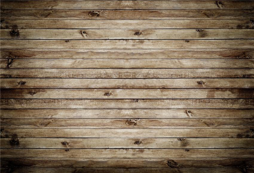 Brown Retro Wood Wall Backdrop for Photography