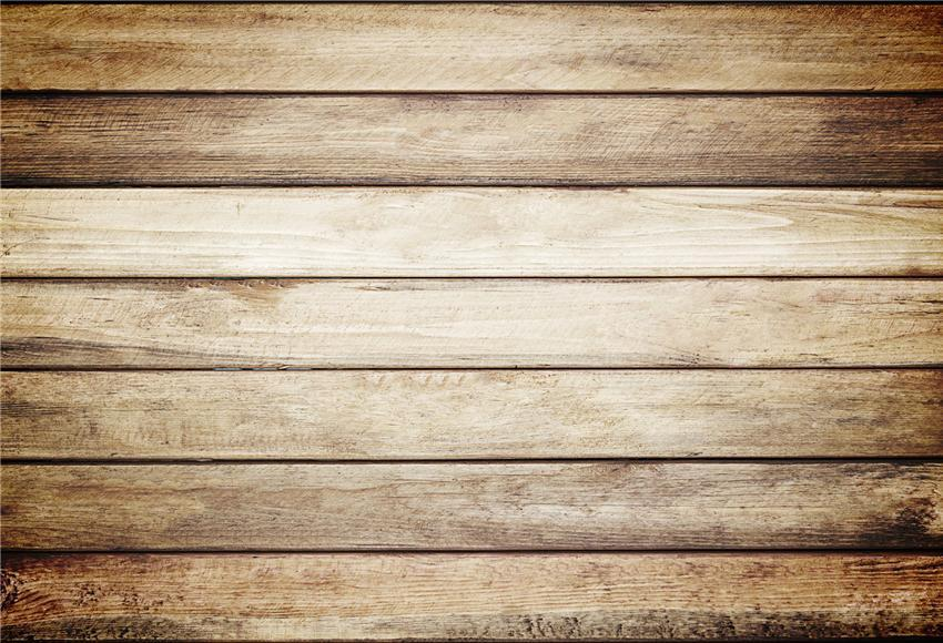 Light Brown Retro Wooden Backdrop for Party