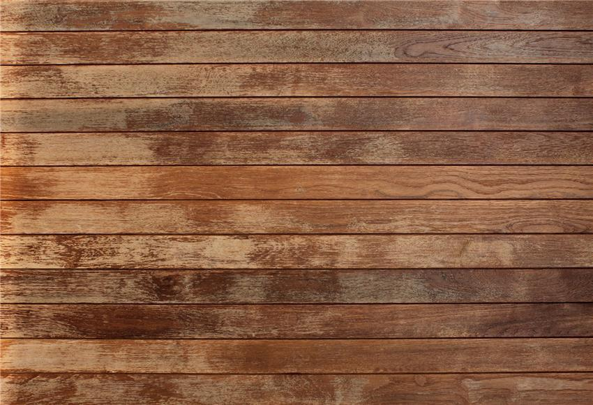 Dark Brown Wooden Wall Background Photo Booth Prop Backdrop
