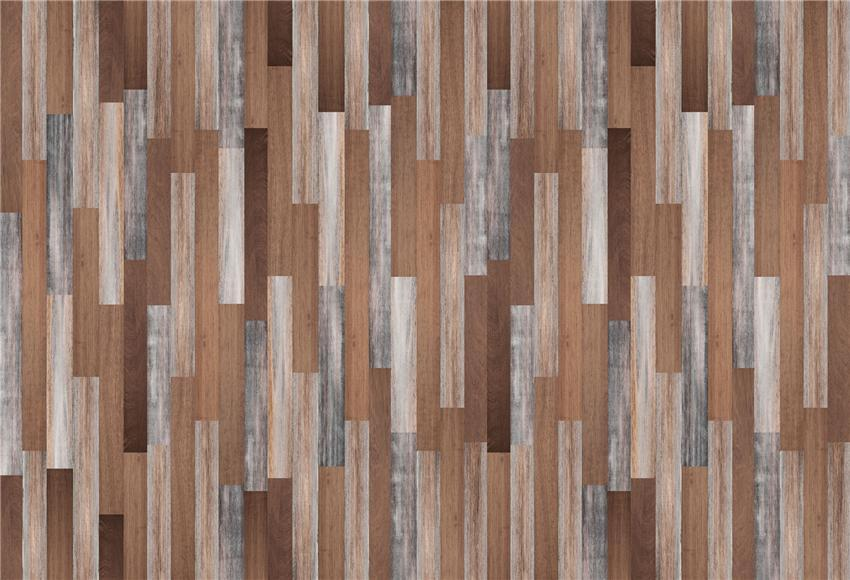 Brown Wooden Grain Photo Studio Backdrops