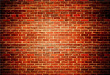 Vintage Dark Red Brick Wall Backdrop for Photo Studio