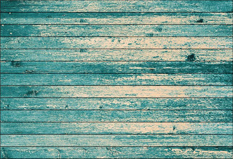 Aquamarine Wooden Photo Booth Prop Backdrops