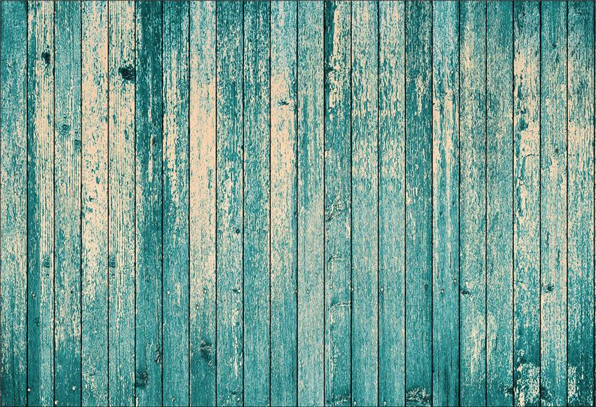 Aquamarine Wood Grain Photo Booth Backdrop for Photography Prop