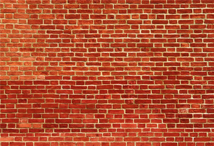 StarBackdrop Microfiber Red Brick Wall Backdrop for Photography